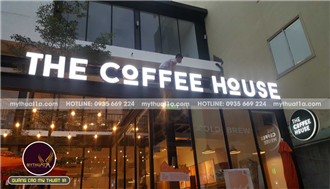 Chữ nổi the coffee house